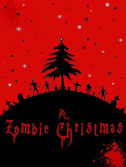 A zombie Christmas by stitchgrin