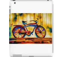"""Rainbow Bicycle"" iPad Case/Skin"