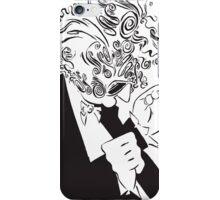 Mr. Falker Ink Portrait iPhone Case/Skin