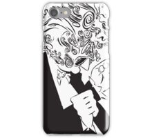 Mr. Falker Ink Portrait iPhone Case/Skin