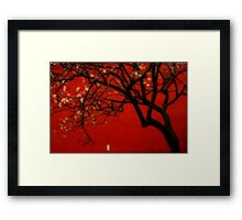 China Red [Orton] Framed Print
