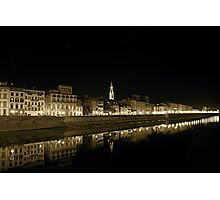 River Arno Photographic Print