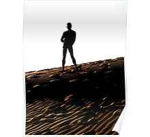 Man on the Dune Poster