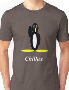 Penguin Chillax Unisex T-Shirt