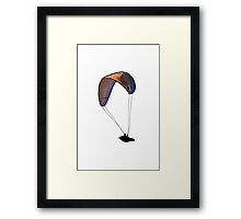 Floating through the Air! Framed Print