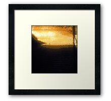 Sunrise Stigmata Framed Print