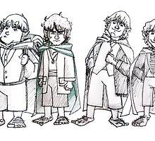 Four of Nine companions by Gillian J.