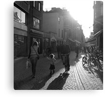 Parijsstraat Canvas Print