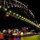Sydney harbor bridge by Matt kelly.