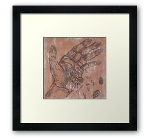 Sowing Seeds and Fossils Framed Print