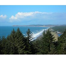 Port Orford Head to Cape Blanco Photographic Print