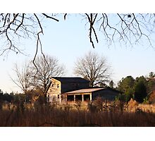 Field House In Fall Photographic Print
