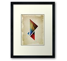 Triangularity  Poster  Framed Print