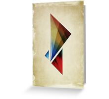 Triangularity  Poster  Greeting Card