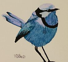 Bird so Blue by Mistina Whitlock