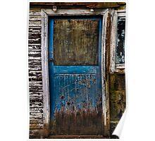 Behind the  Blue Door ? Poster
