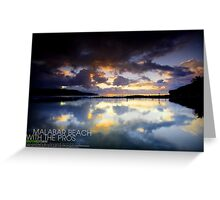 Malabar Beach Greeting Card