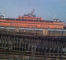 Staten Island Ferry at Rest by leystan
