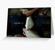 Gluttony Greeting Card