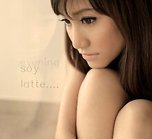 evening soy latte... by mangpo8