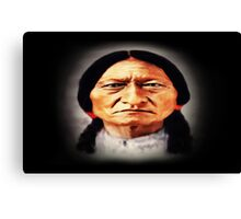 Chief Sitting Bull Canvas Print
