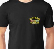 Vietnam Veteran sm Unisex T-Shirt