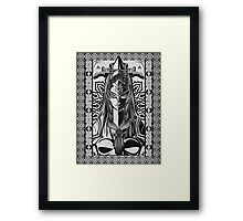 Legend of Zelda Midna Twilight Princess Geek Line Artly  Framed Print