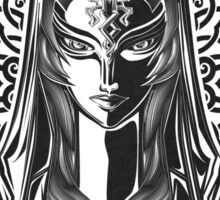 Legend of Zelda Midna Twilight Princess Geek Line Artly  Sticker
