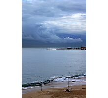 fisherman and the clouds... Photographic Print