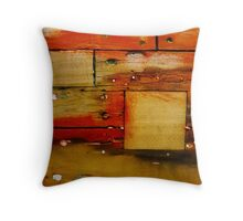 Boat Abstract- 03 Throw Pillow