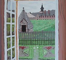 Louisbourg Window by Mistina Whitlock