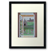 Louisbourg Window Framed Print