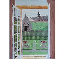 Louisbourg Window Photographic Print