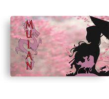 Fa Mulan aka Ping Canvas Print