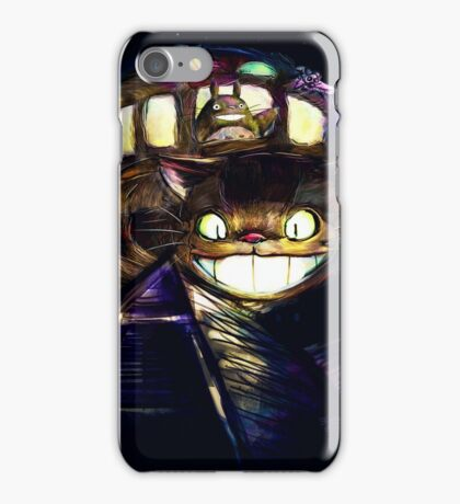 Cat Bus and Totoro are in Your Town iPhone Case/Skin