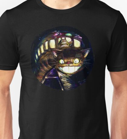 Cat Bus and Totoro are in Your Town Unisex T-Shirt