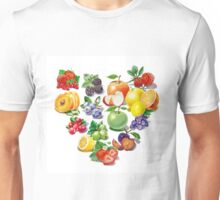 Love Fruits And Berries Unisex T-Shirt