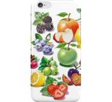 Love Fruits And Berries iPhone Case/Skin