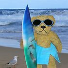 The surfer by Colleen Sattler