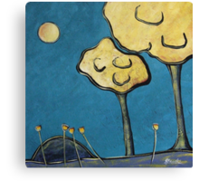 Almost Midnight Canvas Print