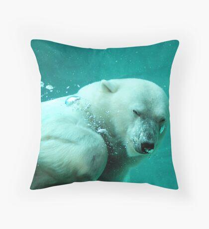 Arctic Fun Throw Pillow