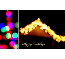 Happy Holidays Photographic Print