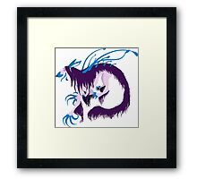 Magic Demon Dog Zaany Framed Print