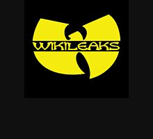 Wikileaks, Julian Assange, MSM, Anon Unisex T-Shirt