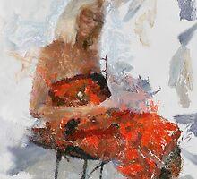 Red Sarong by Untamedart