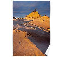 Sunset at Lake Mungo 3 Poster