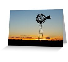 New day on the farm Greeting Card