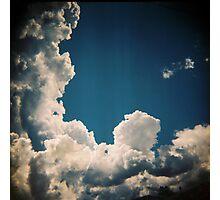 Suburban sky Photographic Print