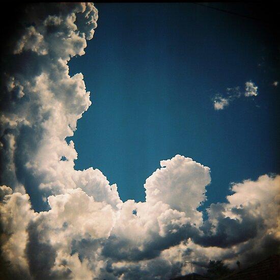 Suburban sky by purelydecorative