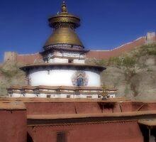 Tibetan monastery by DareImagesArt